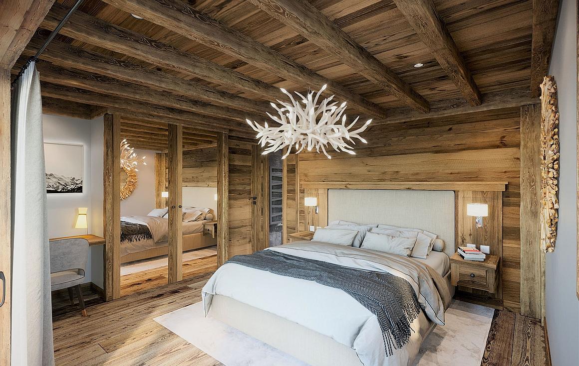 Outstanding chalet bedrooms