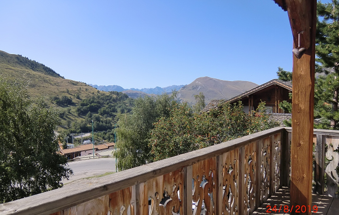 Fantastic 180 degree views from the chalet for sale
