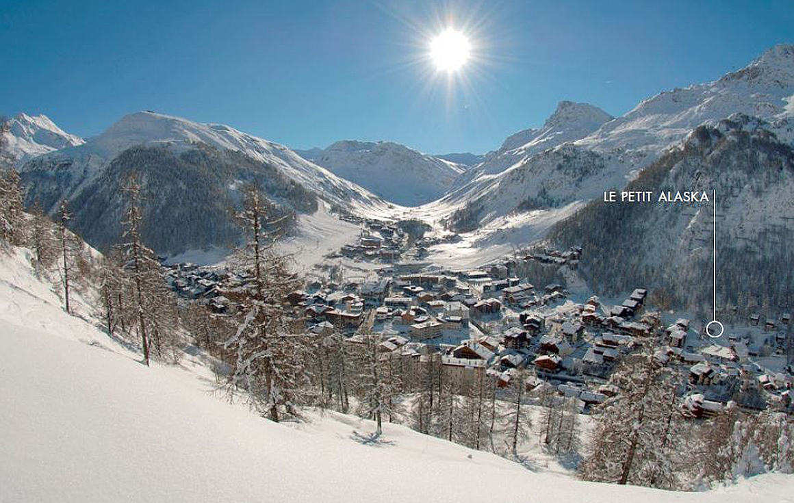Ideal location of chalet