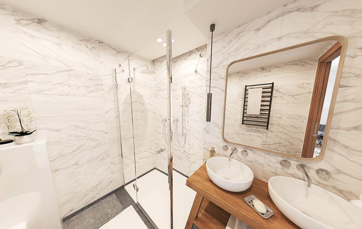 Sumptuous bathrooms