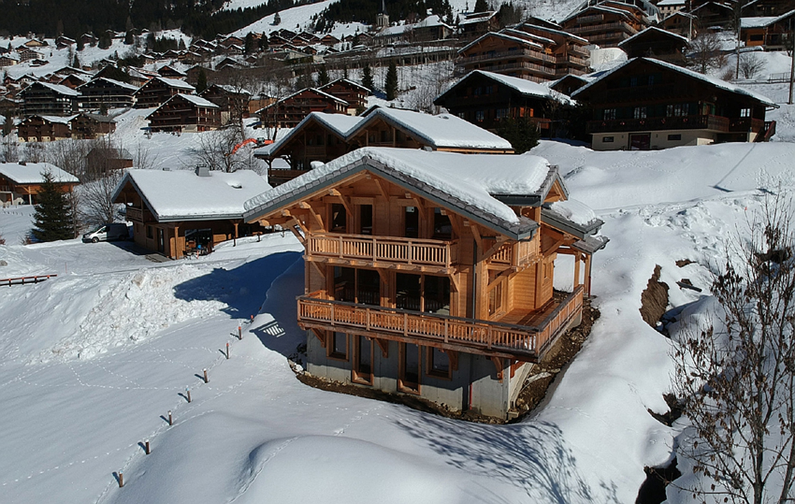 The Chatel chalet for sale exterior