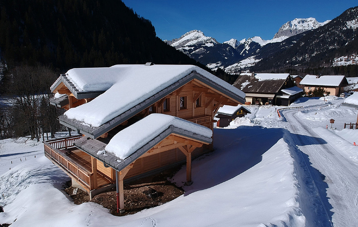 Exterior of chalet for sale in Chatel