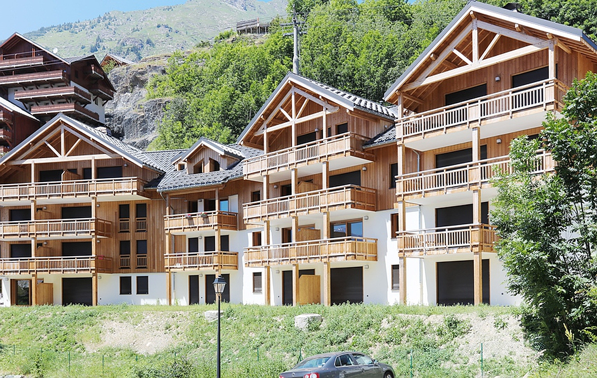 The finished apartments for sale in Vaujany