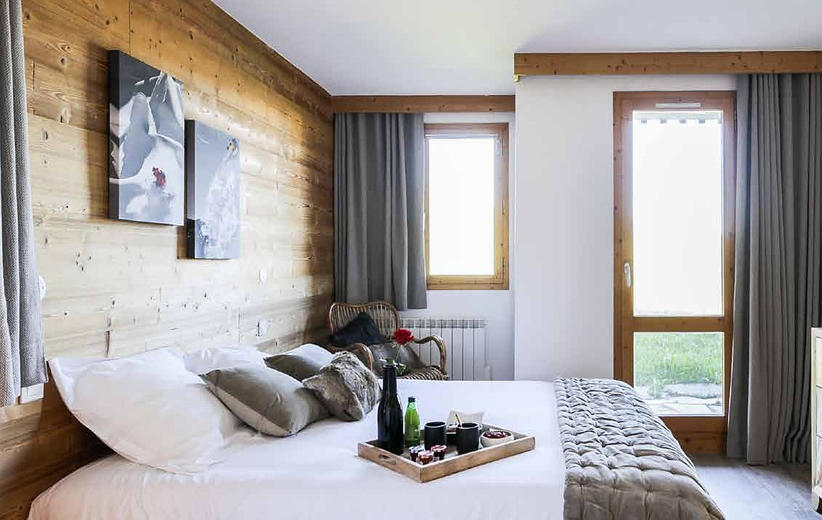 Renovated bedrooms