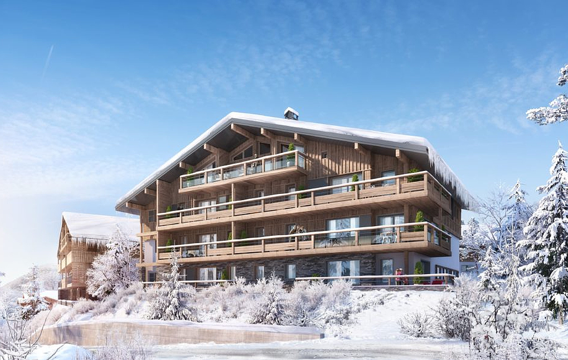 Apartments for sale in Rochebrune area of Megeve