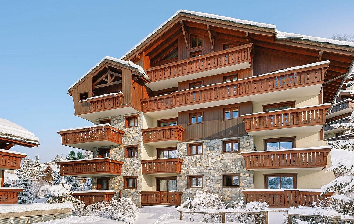 Exterior of apartment for sale in Meribel Village