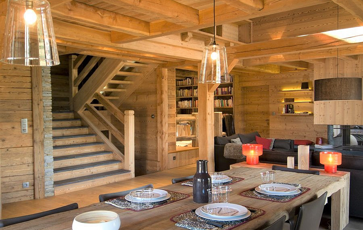 Previous chalet built by constructor