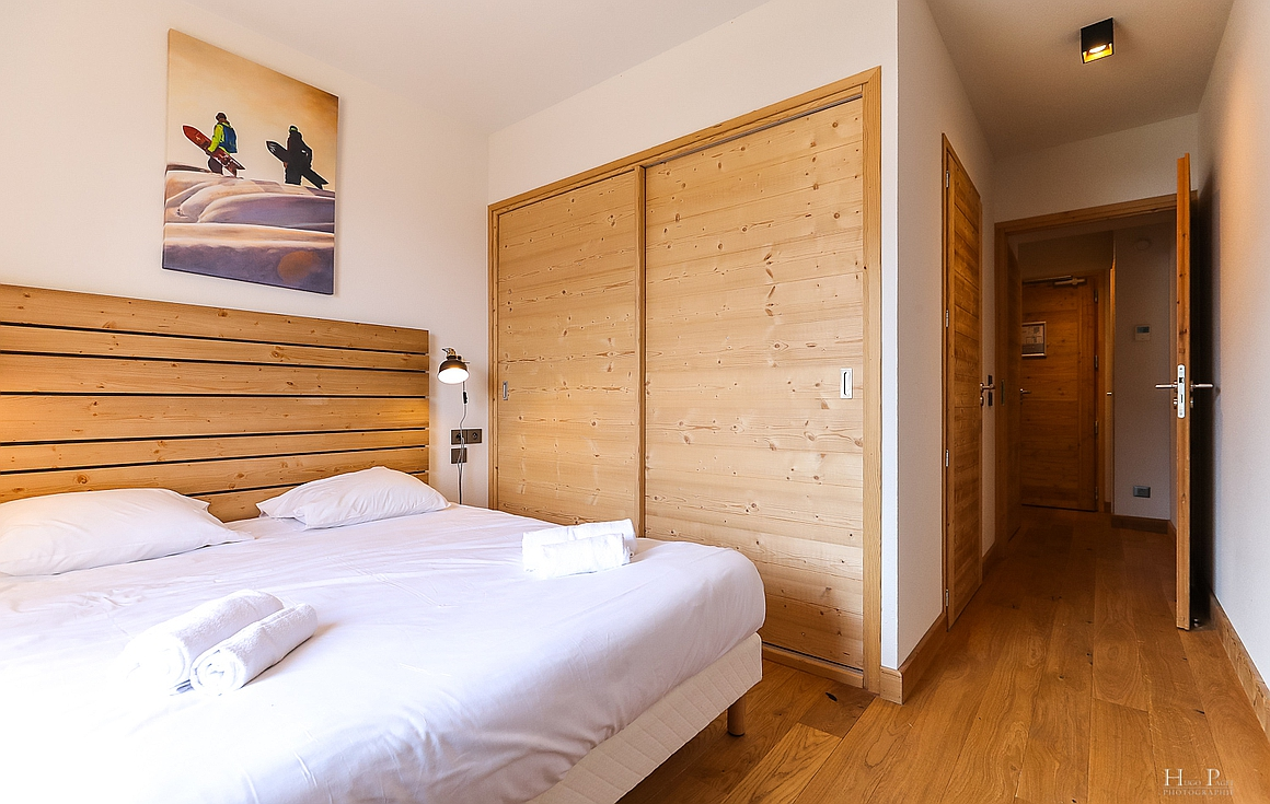 Examples finished bedrooms