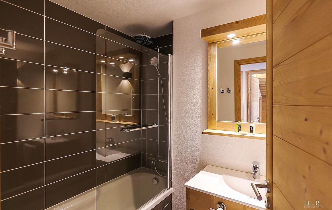 Examples finished bathrooms