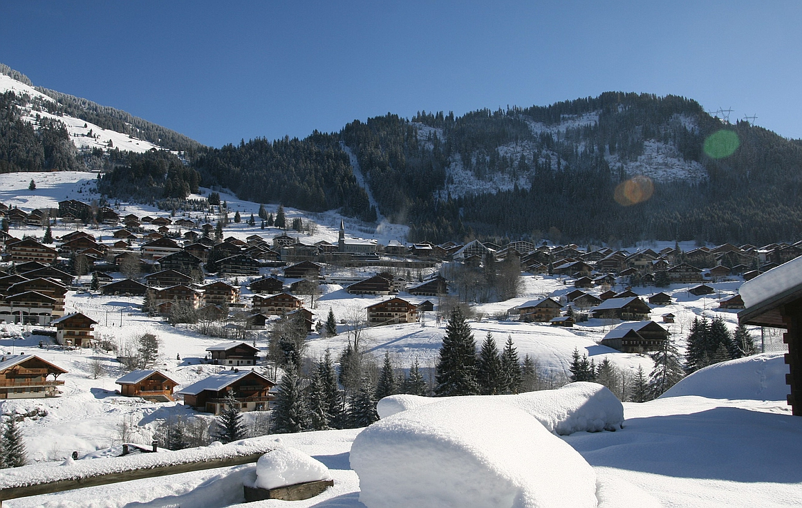 The resort of Chatel