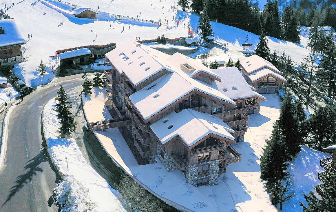 Meribel ski in and out apartments for sale