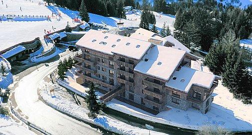 Outstanding location slopeside