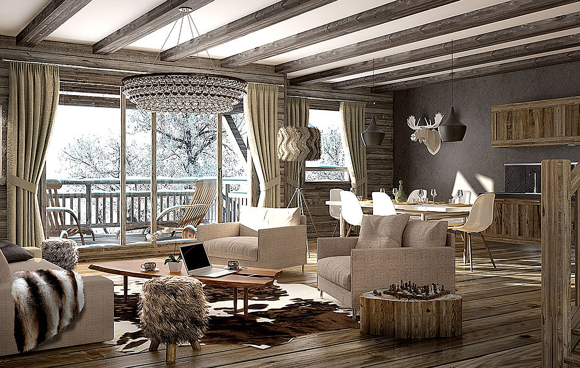 Example Interiors Samoens apartments for sale