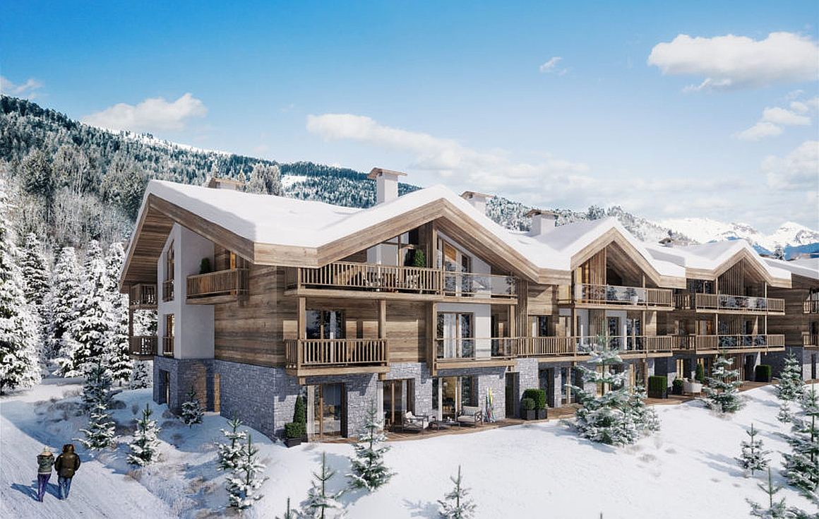 The Les Gets chalets for sale