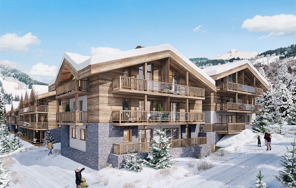 The ski chalets for sale