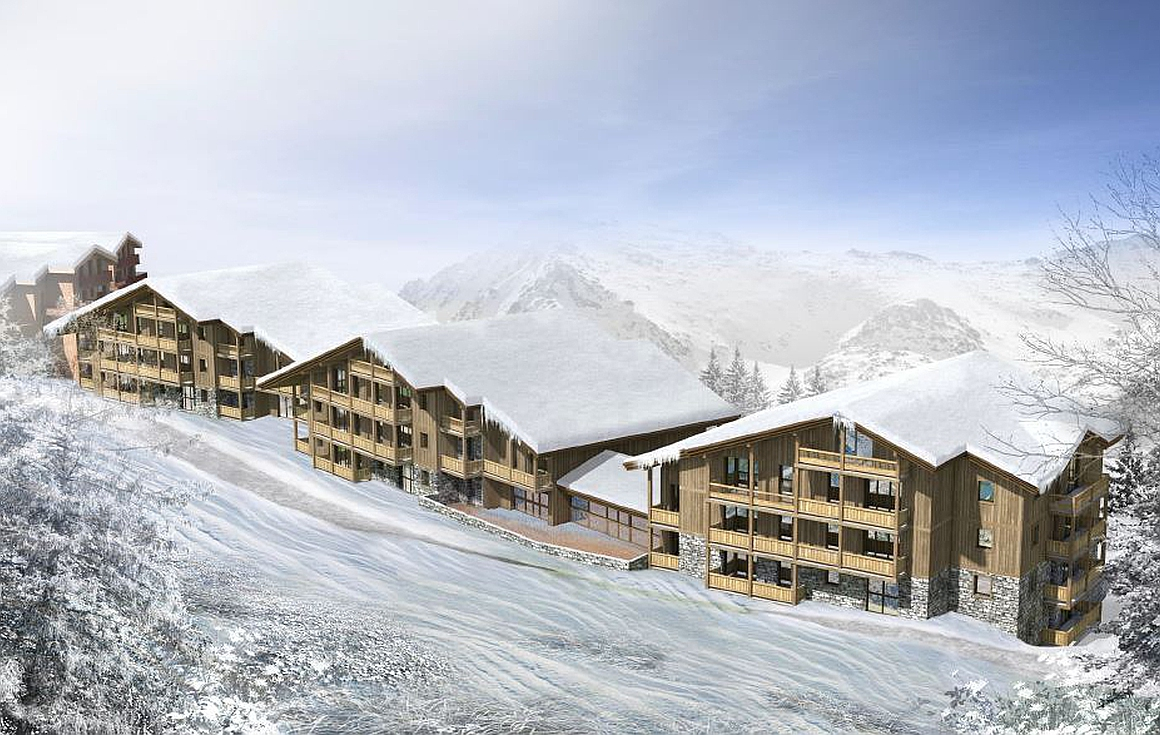 La Plagne apartments on the slopes
