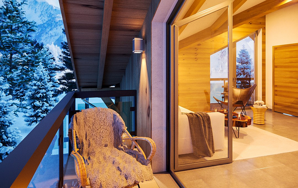 Stunning new ski apartments for sale in the Grand Massif