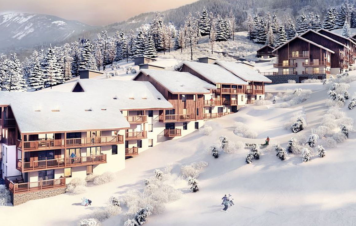 Ski in and out apartments for sale in Valmorel
