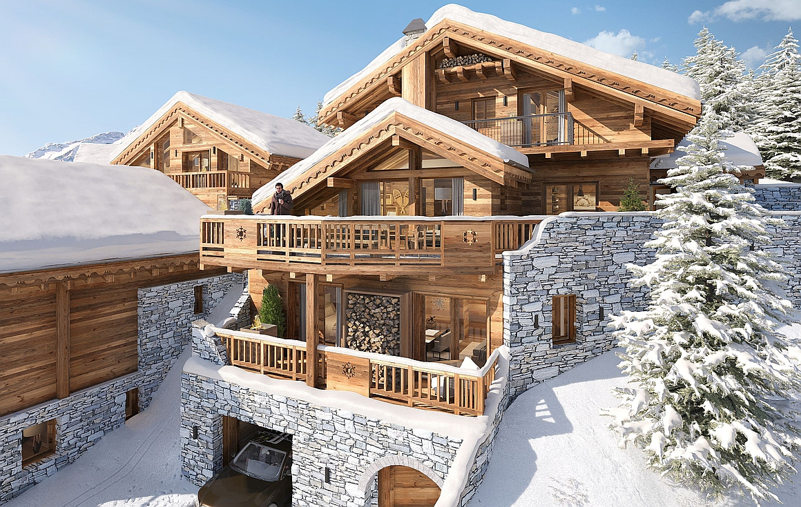 chalets for sale in Meribel