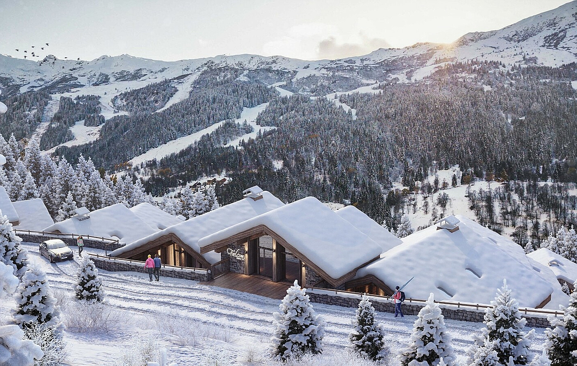 Meribel apartments for sale