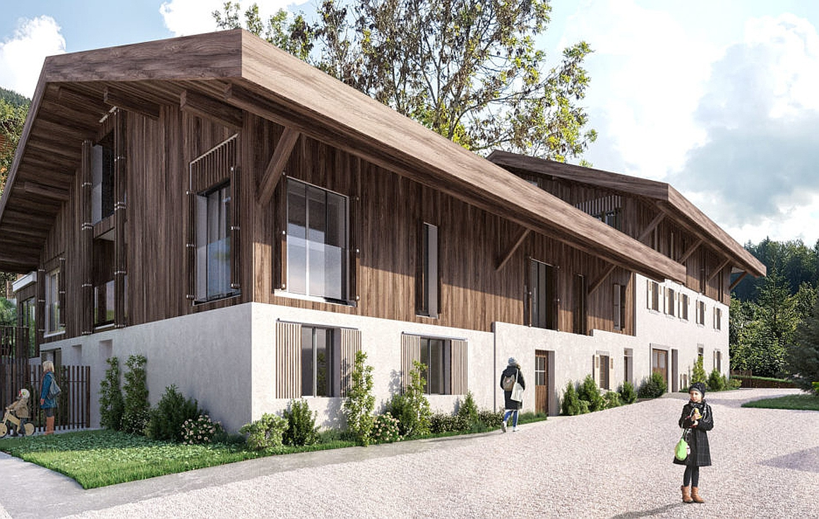 The properties for sale in Morzine