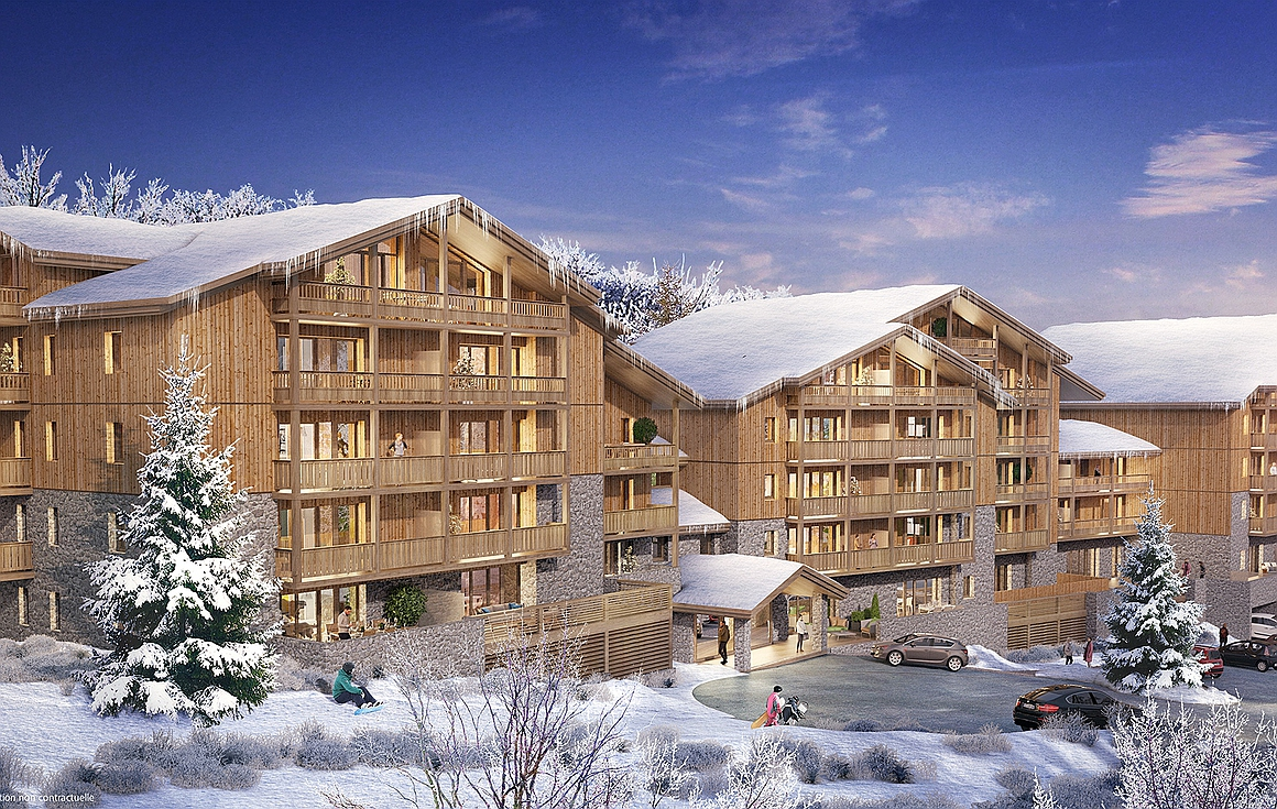 Brand new La Plagne apartments