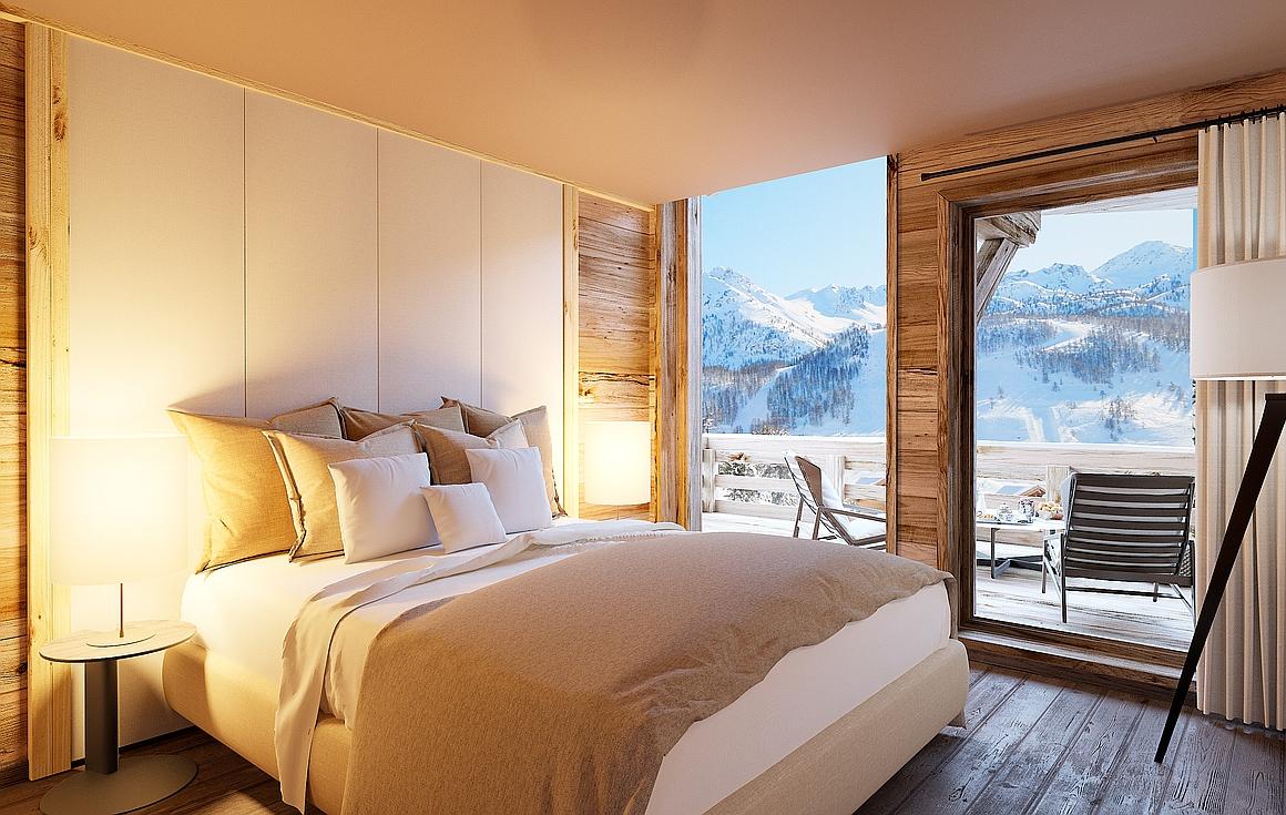 Chalet bedrooms