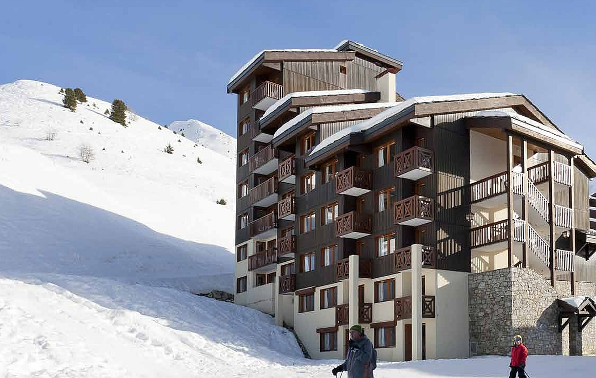 The ski in and out La Plagne apartments for sale