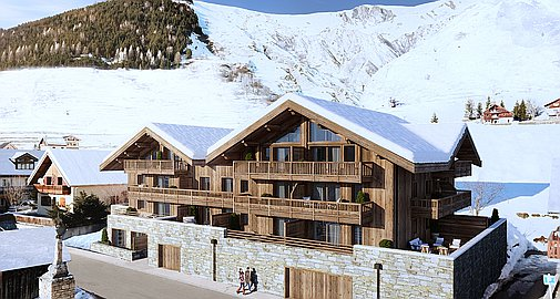 The amazing new apartments for sale in St Sorlin d'Arves