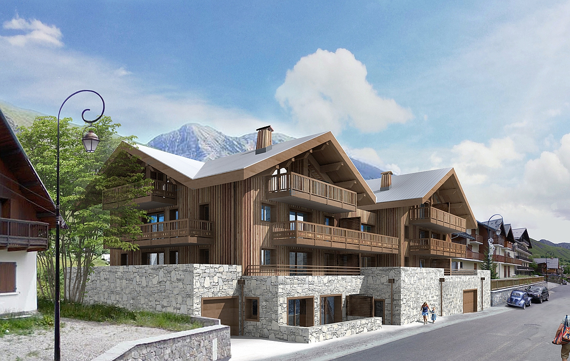 The brand new St Sorlin d'Arves apartments for sale