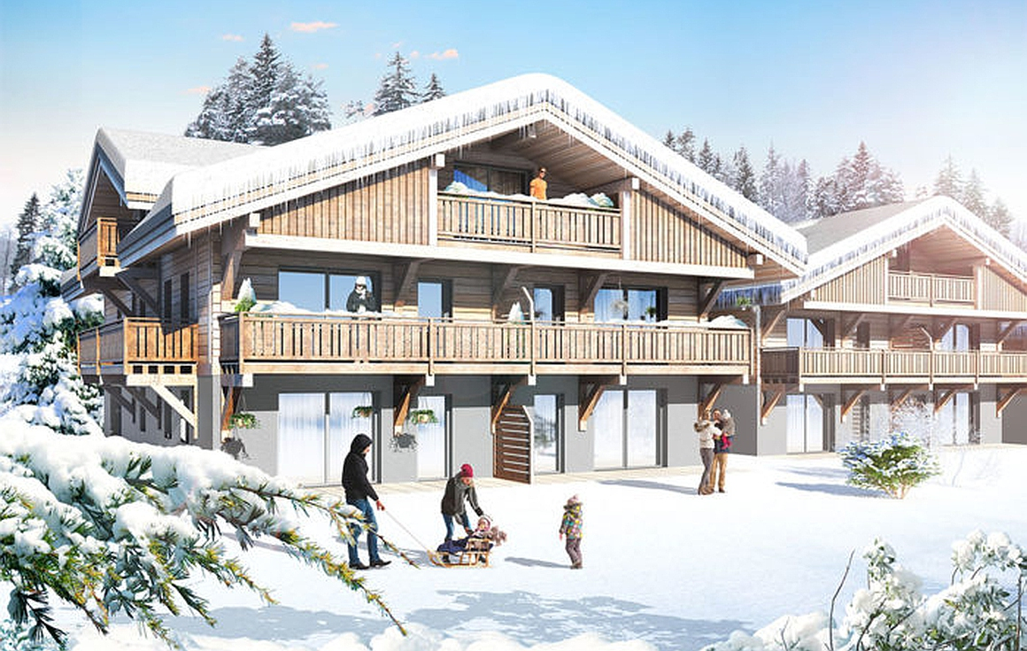 High specification Morzine apartments for sale