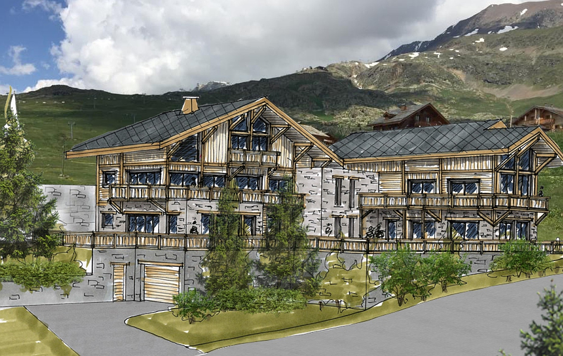 The superb Alpe d'Huez apartments for sale