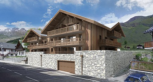 The outstanding new apartments for sale in St Sorlin d'Arves