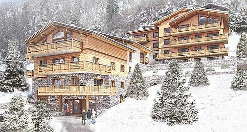 Apartments for sale in St Jean de Sixt pretty hamlet