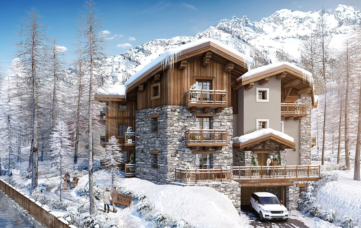 The Val d'Isere properties for sale