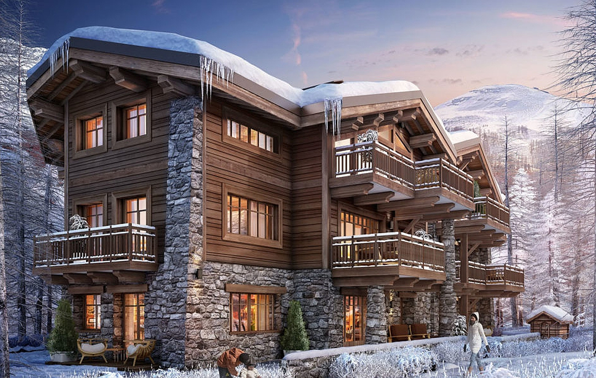 Outstanding 4 bedroom apartments for sale in Val d'Isere