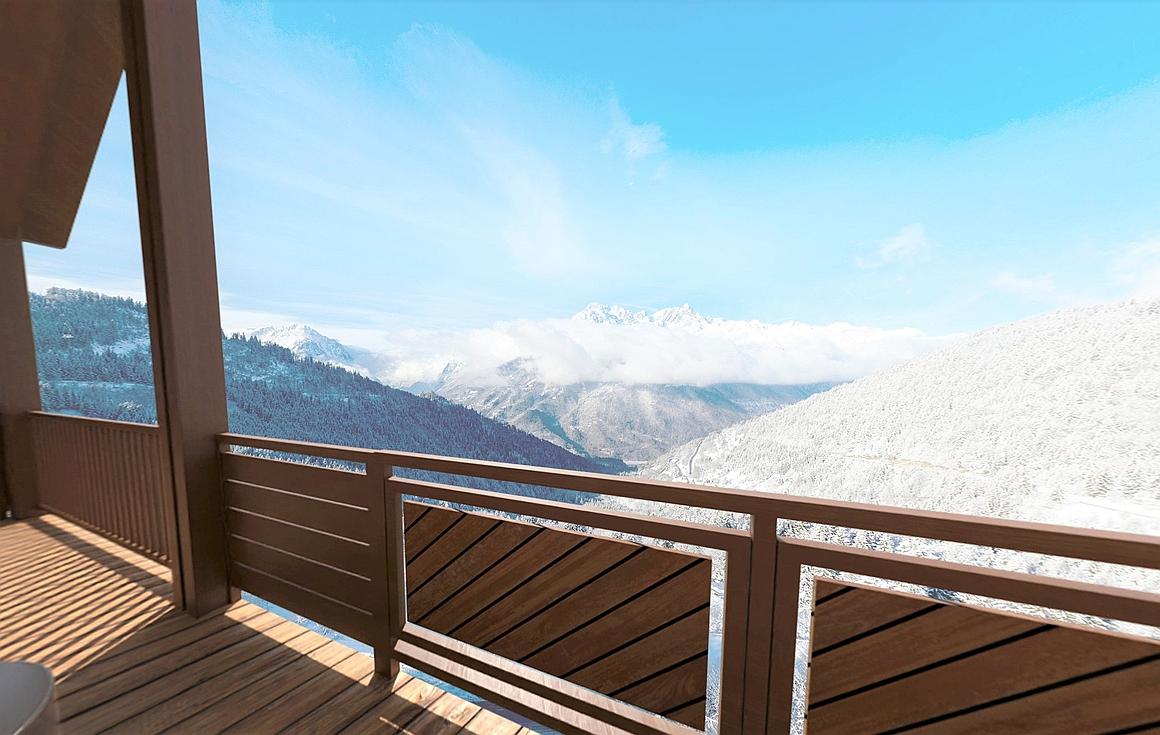 Stunning balcony views