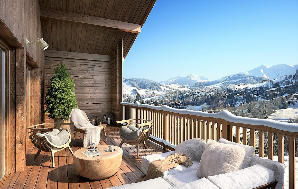 Superb balcony views