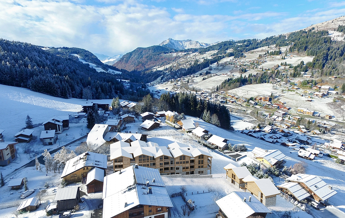 The ski property for sale in Les Gets