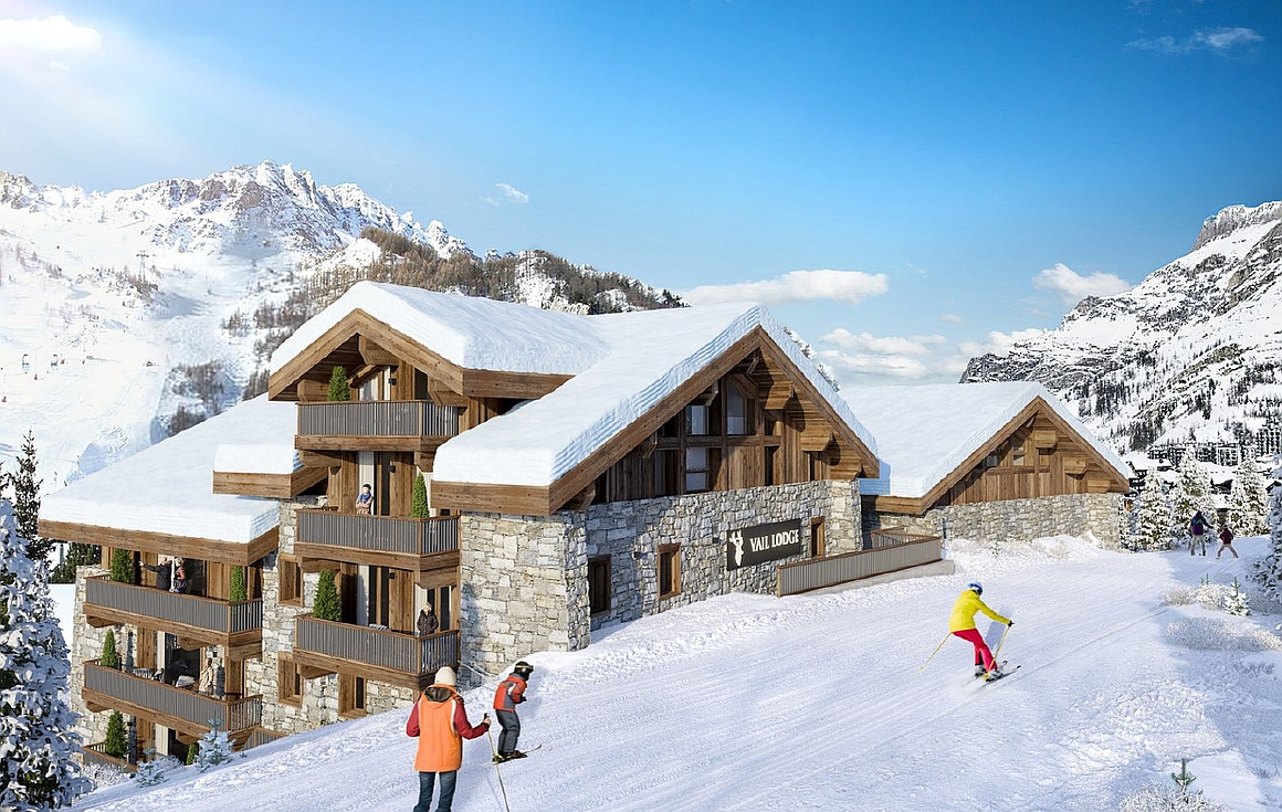 Luxurtious ski in and out apartments for sale