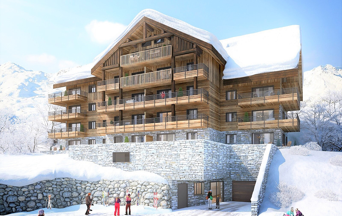 The Valmeinier apartments for sale