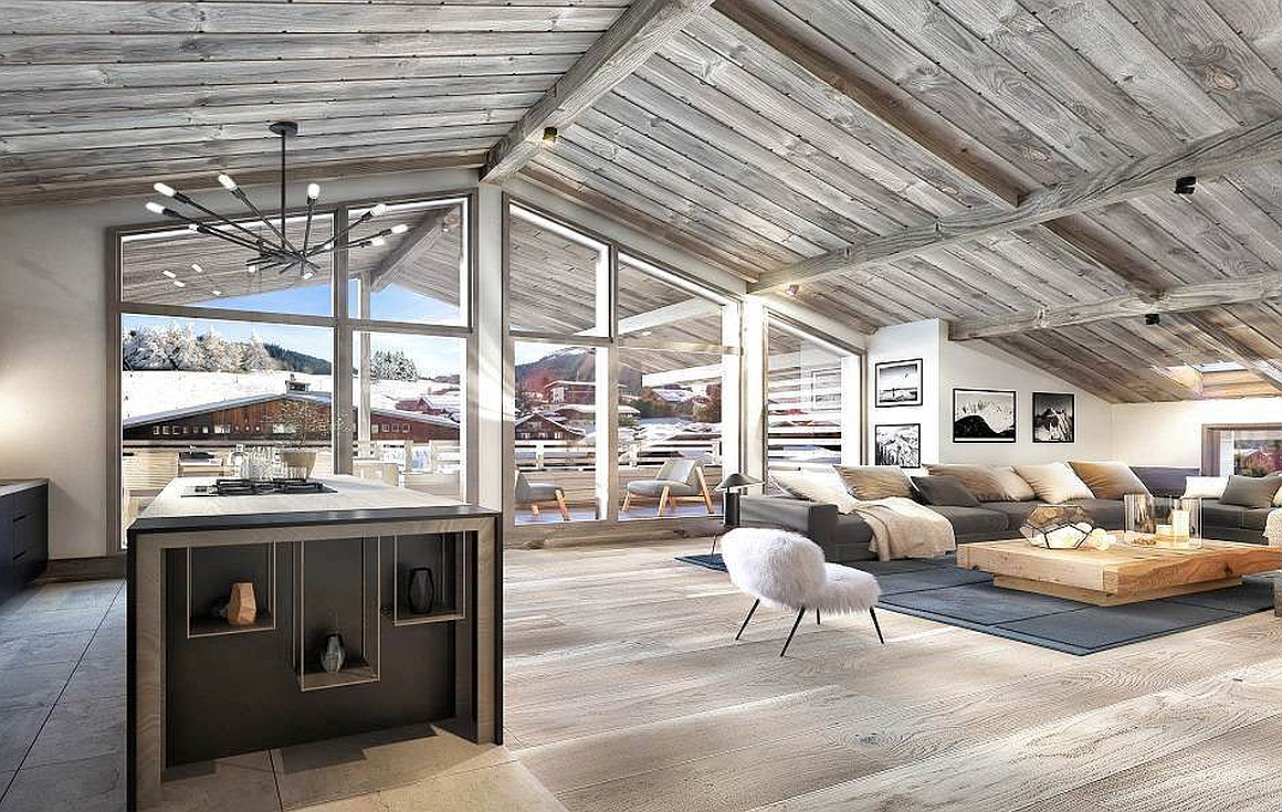 Light and airy internal spaces