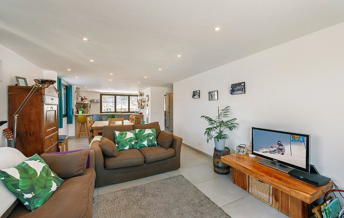 Living room of the apartment for sale in Les Menuires