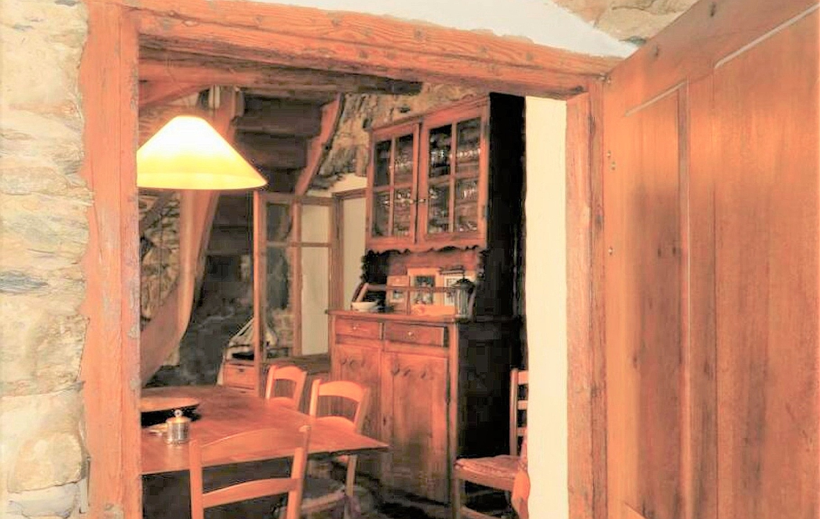Chalet interior