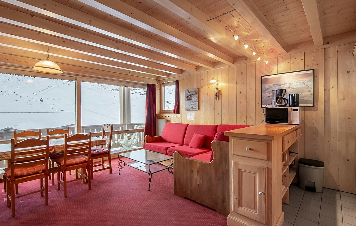 The apartment for sale in Val Thorens
