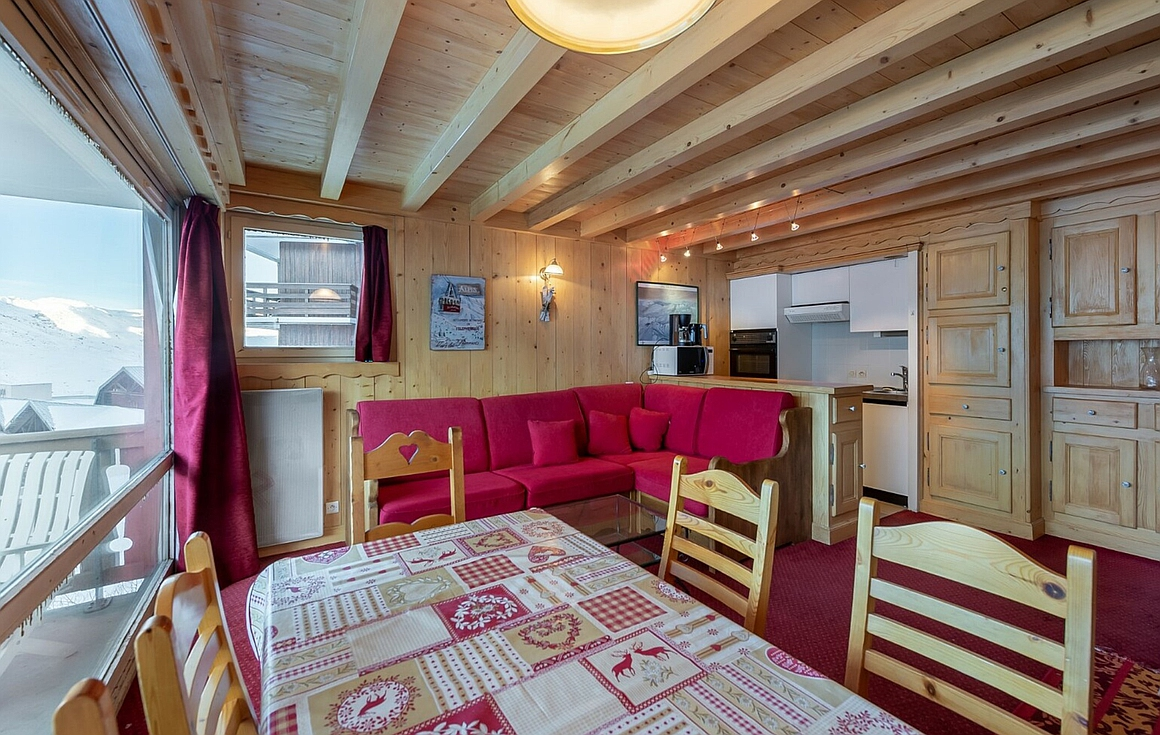 The Val Thorens apartment