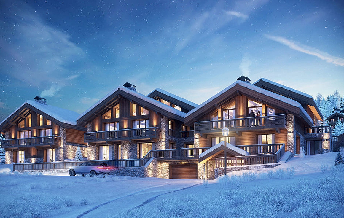 The apartments for sale in Meribel