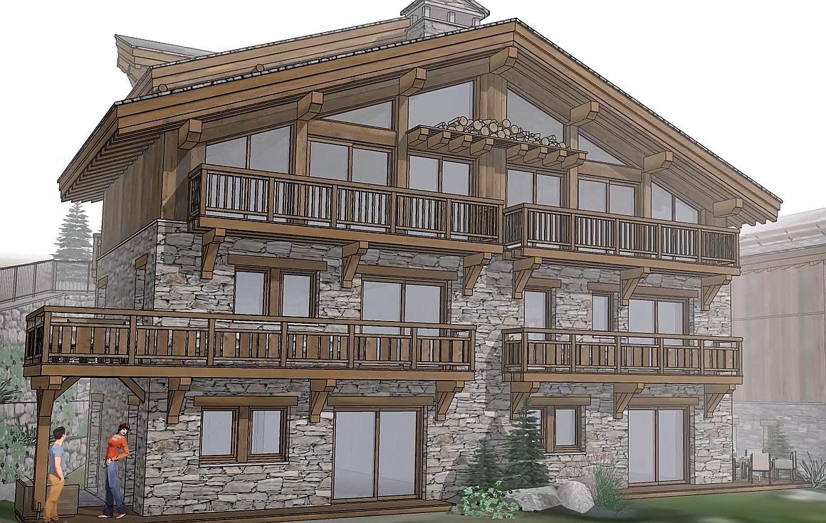 The apartments for sale in St Martin de Belleville