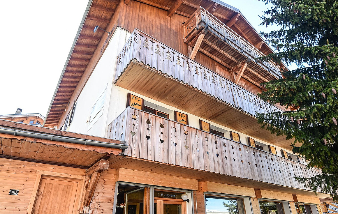 The residence in Alpe d'Huez