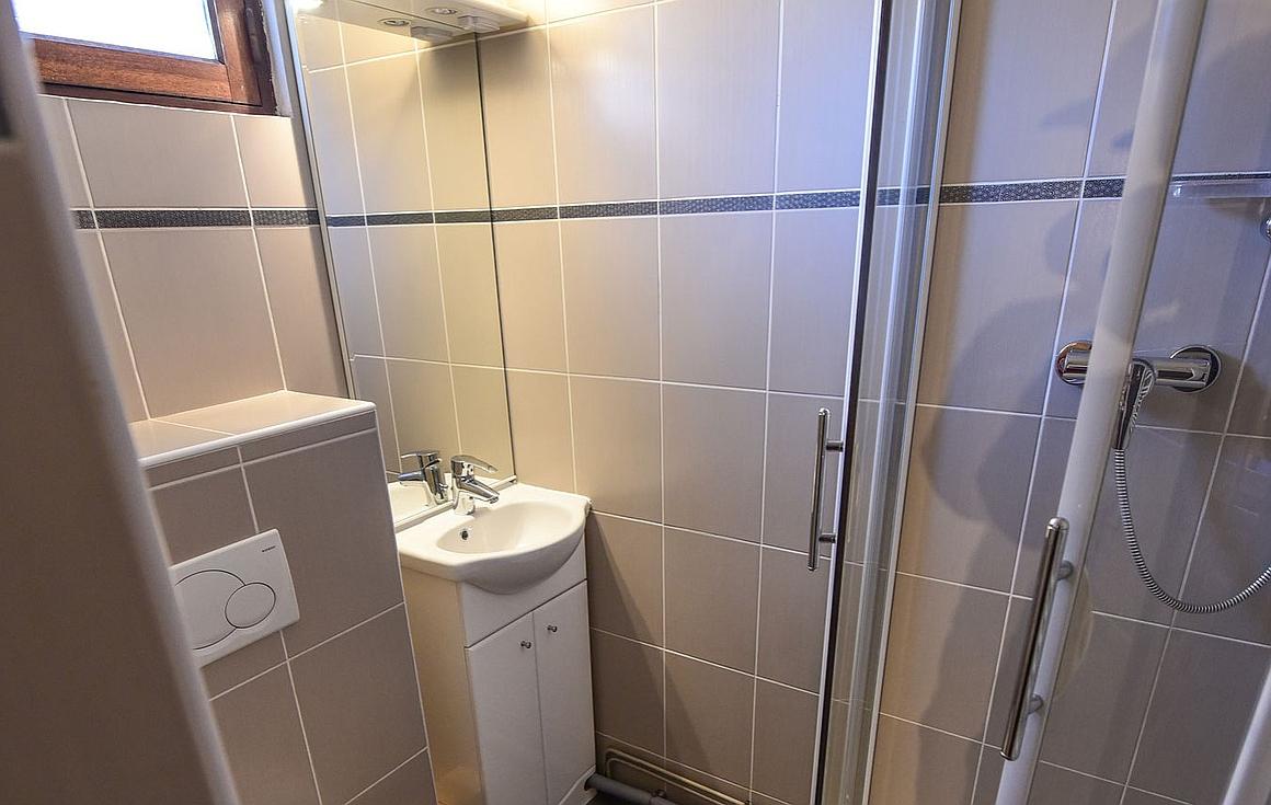 The bathrooms